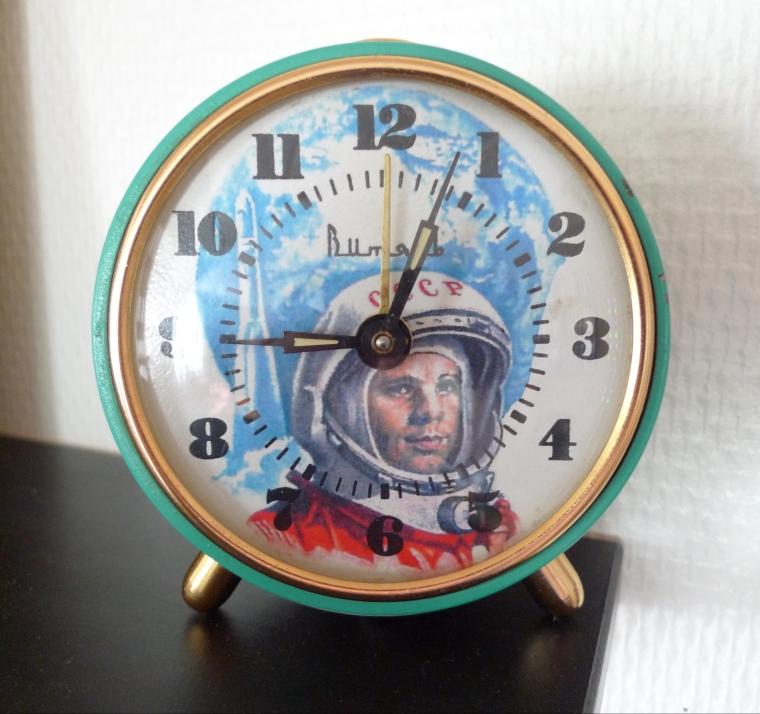 Jurij Gagarin väckarklocka